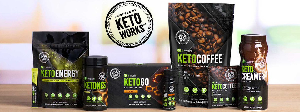 Shop It Works Keto Supplements