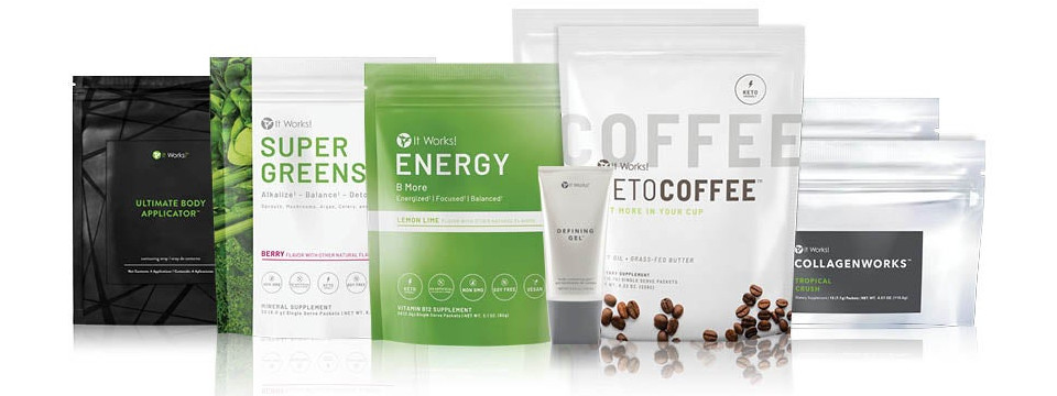 Shop It Works Body Makeover Kits