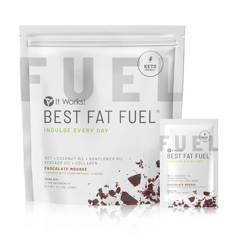 It Works Best Fat Fuel - Ketosis Enhancer