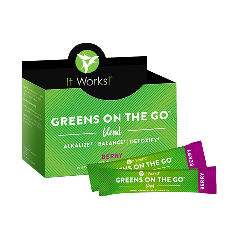 It Works Greens on the Go - Berry
