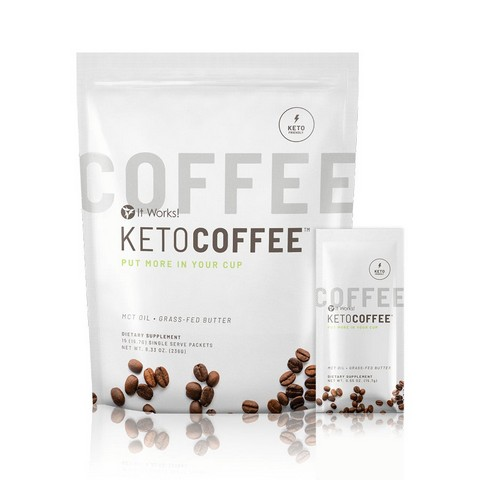 It Works Keto Coffee - Ketosis Enhancer