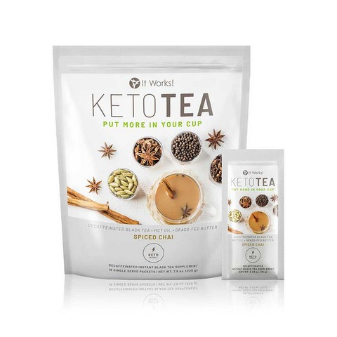 It Works Keto Tea - Ketosis Enhancer
