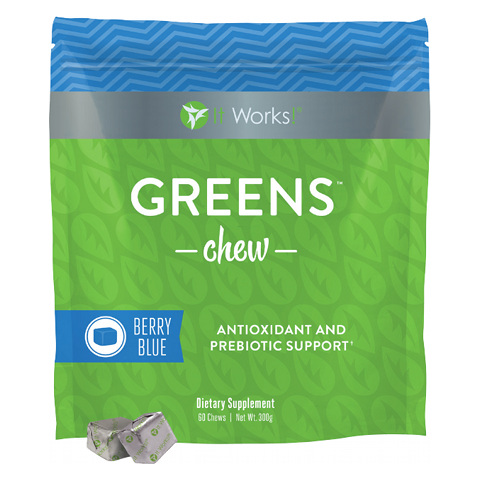 It Works Greens Chew - Antioxidant and Prebiotic Supplement