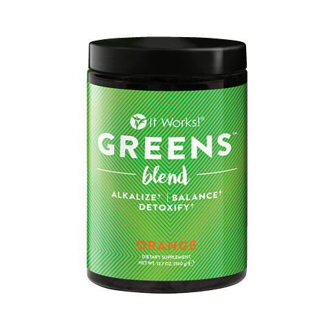 It Works Greens - Value Size - Orange