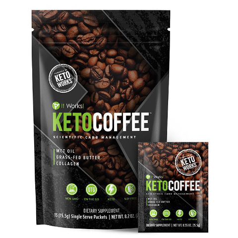 It Works Keto Coffee - Ketosis Enhancer | Body Wraps Store